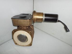 New Akron Sme003 Brass Bronze 3 Actuator Ball Valve Fire Truck Fm 12vdc