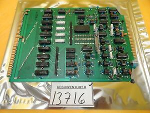 Semifusion 170 Auto Photo Controller Pcb Card Ultratech Ultrastep 1000 Used