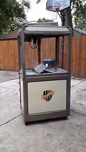 Antique 1920s Burch Manley Vintage Movie Theater Popcorn Machine Vintage 30 40