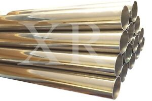 3 0 T 304 Ss Stainless Steel Exhaust Piping Tubing 4 Ft Long Tube Pipe 3 Inch