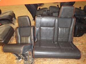 2007 2014 Lincoln Navigator Black Leather 3rd Row Drv Seat Only Power Expedition