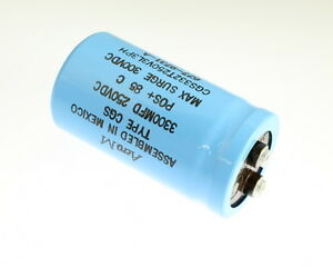 Aero m 3300uf 250v Large Can Electrolytic Capacitor Cgs332t250v3l3ph