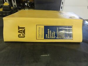 Caterpillar Cat 12h Standard Version Motor Grader Repair Service Manual
