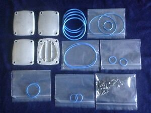 Blue Fluorosilicone Wayne I Meter O ring Service Kit With Solid Cylinder Covers
