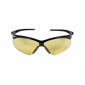 Jackson Safety 22476 V30 Nemesis Glasses Amber Anti Fog Lenses With Black Frame
