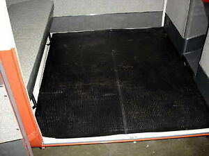 Vw Type 2 Bus 1955 1979 Center Cargo Area Floor Mat Kombi Deluxe Microbus Bulli