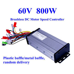 60v 800w Electric Bicycle E bike Scooter Brushless Dc Motor Speed Controller