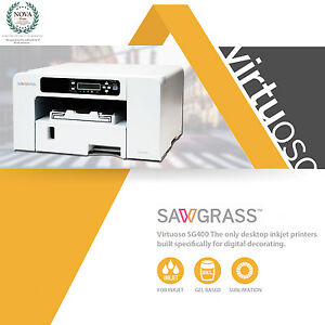 Sawgrass Virtuoso Sg400 Sublimation Printer Kit Free Shipping