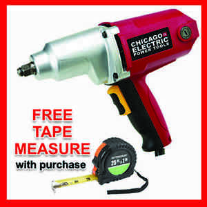 1 2 In Heavy Duty Electric Impact Wrench Torque 2 3day Priority Shipping