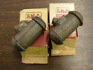 Nos Oem Ford 1949 1956 Fairlane 1955 1957 Thunderbird Brake Wheel Cylinders