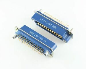 26 Series 24 Pin Contact Rack And Panel Blue Ribbon Connector Receptacle Wirepro