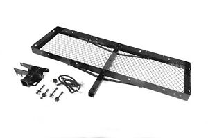 Trailer Hitch Carrier cargo Carrier Rugged Ridge Fits 87 95 Jeep Wrangler