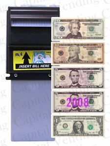 Mars Mei Ae 2681 Ae 2681 Dollar Bill Acceptor Validator Downstacker 1 20 120v