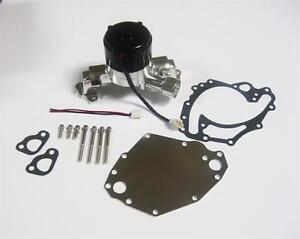 Small Block Ford Electric Water Pump High Volume 351c 400 Cleveland Sbf Plate