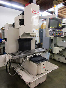 2009 Ganesh Gbm 2616 Cnc Bed Mill 26 x16 4000 Rpm Anilam Ctl Small Footprint