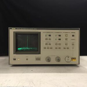 Anritsu Mw98a Optical Time Domain Reflectomer Otdr