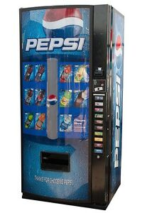 Royal 10 Selection Vending Machine W Pepsi Graphic Rvcde 768 10