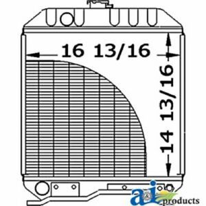 A sba310100440 Ford Tractor Radiator 1710