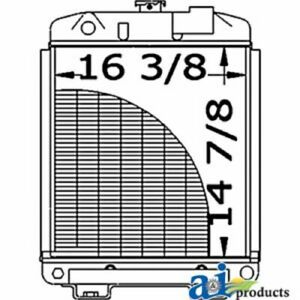 A sba310100280 Ford Tractor Radiator 1900