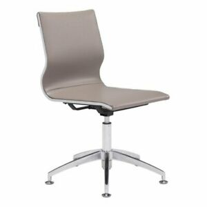 Brika Home Conference Chair In Taupe