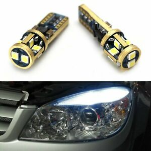 10 Smd 5630 2825 W5w T10 Canbus Error Free Led Parking Bulb License Plate Lights
