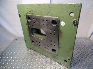 Stationary Plate Elongated Hole Vario Suitable For Arburg 220 Multronica