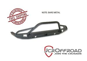 Jcr Offroad Defender Prerunner Front Bumper W Hitch Bare 84 01 Jeep Xj