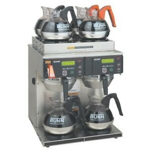Bunn 38700 0014 Axiom Twin Airpot Coffee Brewer With 6 Warmers