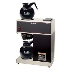 Bunn Vpr Commercial 12 cup Pour over Coffee Brewer With 2 Warmers