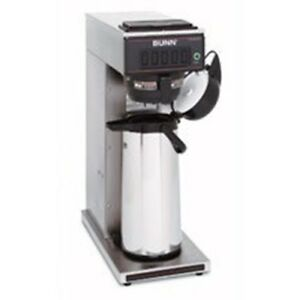 Bunn o matic Cw15 aps 0000 Airpot Coffee Brewer Single Pourover 1320 Watt Heater