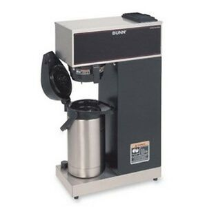 Bunn Vpr aps Pourover Airpot Coffee Brewer With 2 2 Liter Airpot 120v bunn 3320