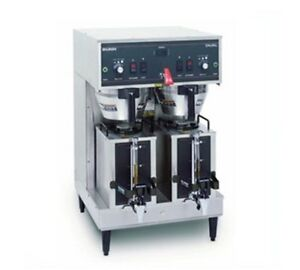 Bunn Dual 0010 Dual Brewer With Portable Server Brews 16 3 To 18 9 Gallons 61