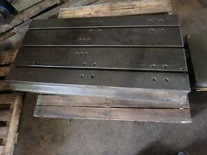 53 7 8 X 26 Steel Welding 3 T slotted Table Cast Iron Layout Plate Jig