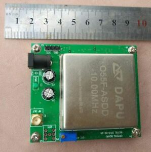 Used 10mhz Constant Temperature Crystal Frequency Reference Tcxo With Fine tune