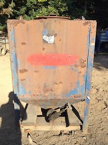 426 Gallon Steel Waste Oil Water Storage Tank Container Tote