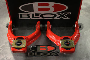 Blox Red Competition Front Camber Kit For Honda Civic 96 00 Ek