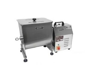 Uniworld Stainless Steel Automatic Meat Mixer With Tc Power Unit Can Be Used Al