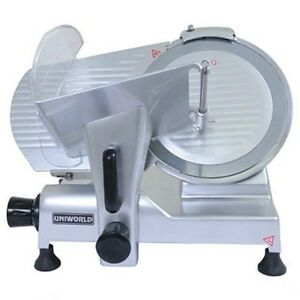 Uniworld Sl 12e 12 Commercial Deli Meat And Cheese Slicer Model