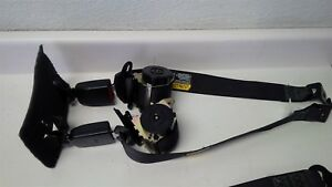 04 05 06 Gto Black Ebony Seat Belts Set Rear Only 2004 2005 2006 Seatbelts