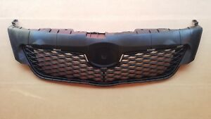Fits 2009 2010 Toyota Corolla Front Bumper Cover Upper Grille New