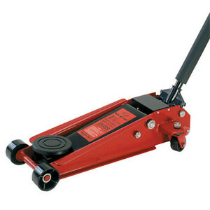 American Forge Foundry 350ss Heavy Duty Floor Jack 3 1 2 Ton Double Pumper