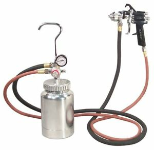 Astro Pressure Pot System 2 Quart With Spray Gun And Hose 1 2mm Nozzle 2pg7s