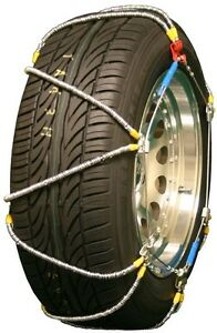 255 75 16 255 75r16 Tire Chains High Volt Z Cable Traction Passenger Truck Suv