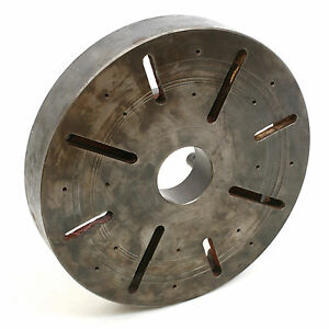 17 T slotted Lathe Face Plate D1 8 Camlock Mount