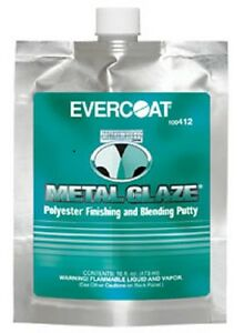 Evercoat Metal Glaze 16 Fl Oz Pouch 412
