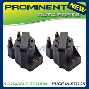 2 Ignition Coil Packs Replacement For 1991 2002 Saturn Sl Sw Sc 1 9l L4 Dr46