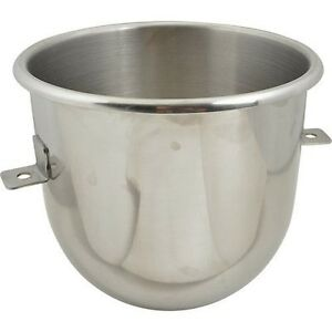 12 Quart Stainless Steel Bowl For Univex Planetary Mixer 1 Each