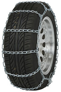 235 55 15 235 55r15 Tire Chains pl Link Snow Traction Device Passenger Car