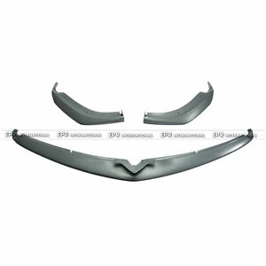 New 3pcs Front Lip Splitter For Mazda Rx8 09 12 Late R3 Tk Style Frp Unpainted