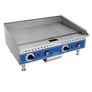 Globe Countertop Griddle Electric 24 Pg24e
